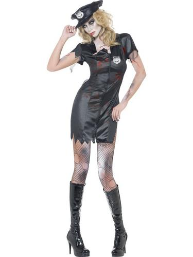 Fever Zombie Cop Costume Thumbnail 1