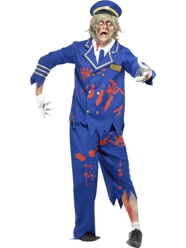 Adult Zombie Pilot/Captain Costume
