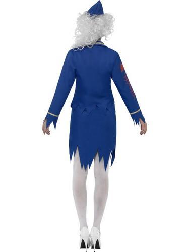 Zombie Air Hostess Costume Thumbnail 2
