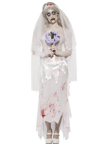 Till Death Do Us Part Zombie Bride Costume Thumbnail 1