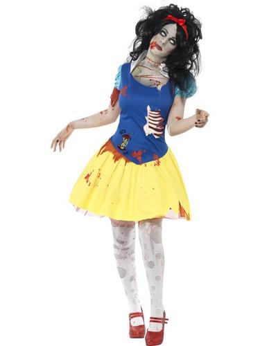 Zombie Snow Fright Costume Thumbnail 1