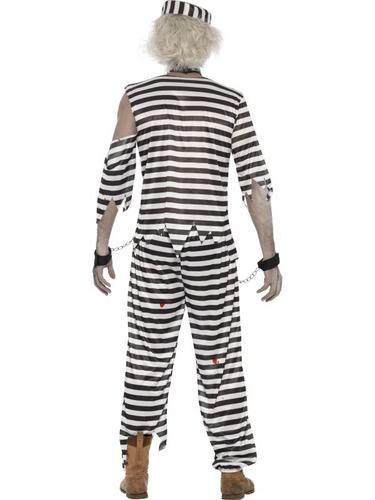 Adult Zombie Convict Costume Thumbnail 2