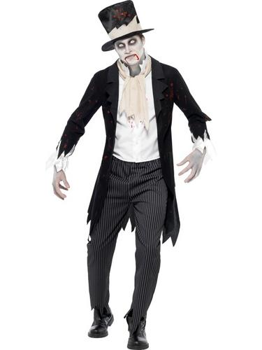 Till Death Do Us Part Zombie Groom Costume Thumbnail 1