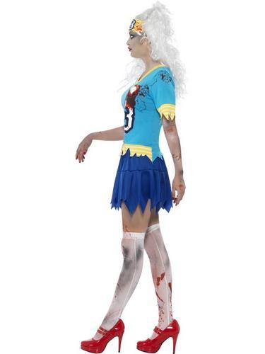 High School Horror Zombie Hockey Player Costume Thumbnail 3