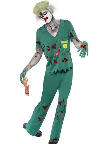Zombie Paramedic Costume Thumbnail 1