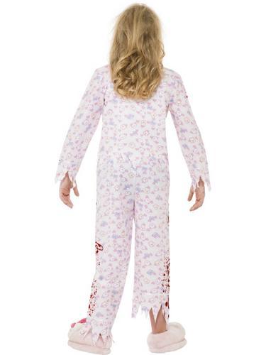 Zombie Pyjama Girl Costume Thumbnail 2