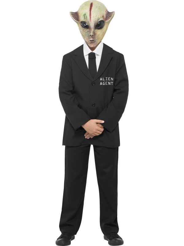 Boys Alien Agent Costume