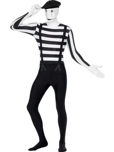 Mime Second Skin Costume Thumbnail 4