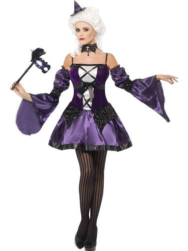 Witch Masquerade Costume Thumbnail 1
