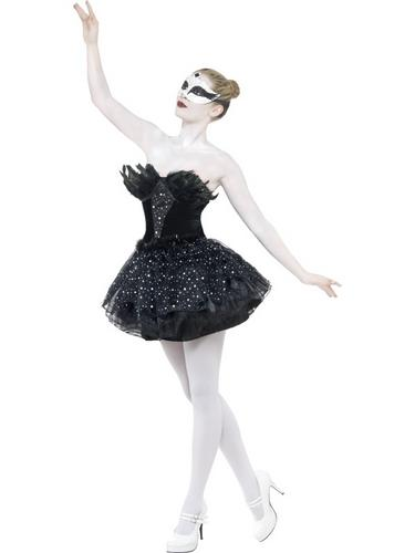 Gothic Swan Masquerade Costume Thumbnail 1