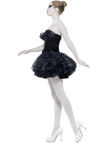 Gothic Swan Masquerade Costume Thumbnail 3
