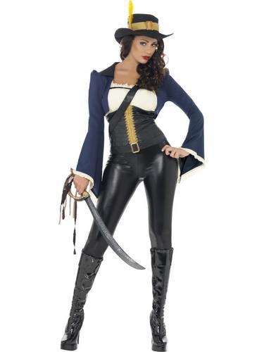 Penelope Pirate Costume Thumbnail 1