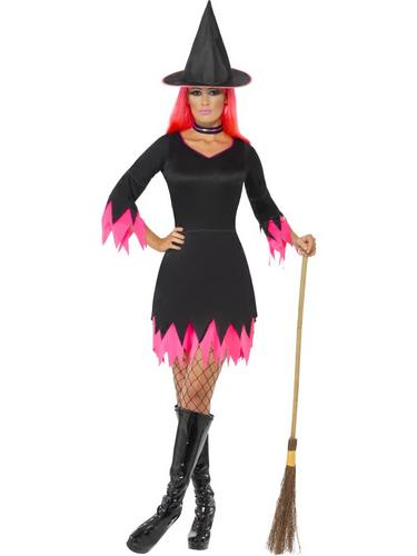 Witch Costume Back and Pink Thumbnail 1
