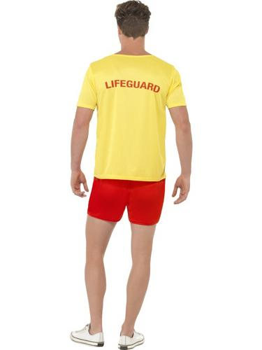 Baywatch Men's Beach Costume Thumbnail 2