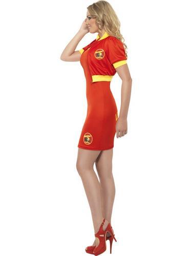 Baywatch Beach Lifeguard Costume Thumbnail 3