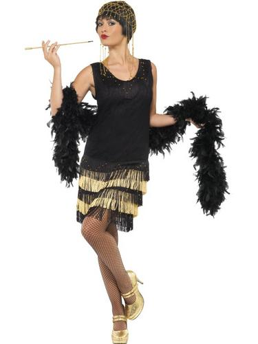 1920's Fringed Flapper Costume Thumbnail 1