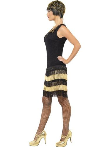 1920's Fringed Flapper Costume Thumbnail 3
