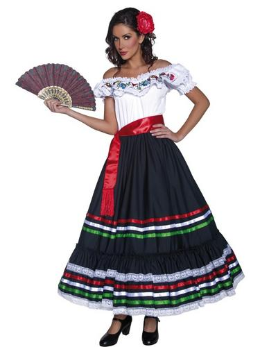 Authentic Western Sexy Senorita Costume Thumbnail 1