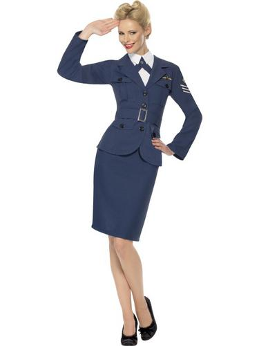 WW2 Air Force Female Captain Thumbnail 1