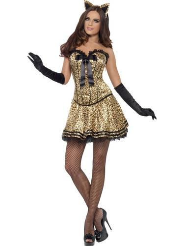 Fever Boutique Kitty Costume Thumbnail 1