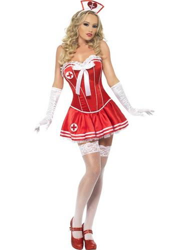 Fever Boutique Nurse Costume Thumbnail 2