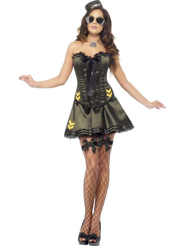 Fever Boutique Army Costume