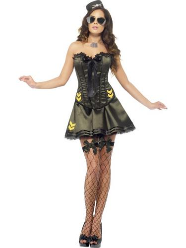 Fever Boutique Army Costume Thumbnail 1