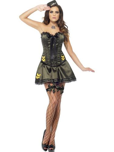 Fever Boutique Army Costume Thumbnail 2