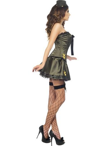 Fever Boutique Army Costume Thumbnail 4