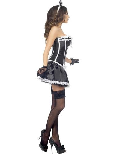 Fever French Maid Costume Thumbnail 4