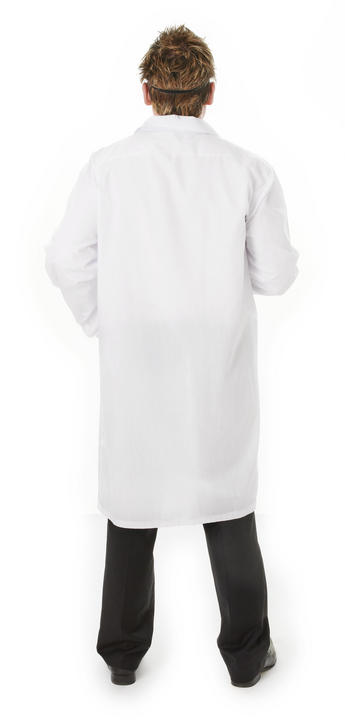 Men's Doctor Coat Fancy Dress Costume Thumbnail 2