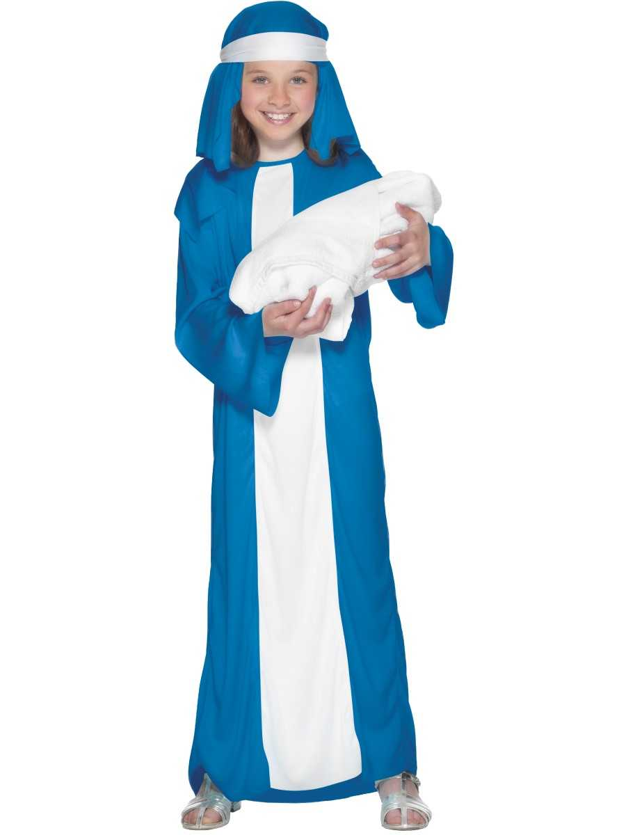 Girls Mary Fancy Dress Costume