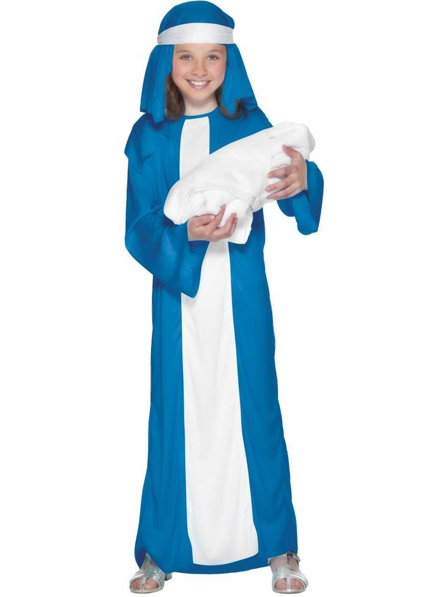 Kids christmas nativity play mary girls fancy dress costume xmas party