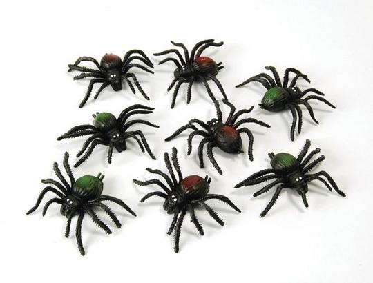 Scary Creatures.  Spiders. (8/pkt) Thumbnail 1