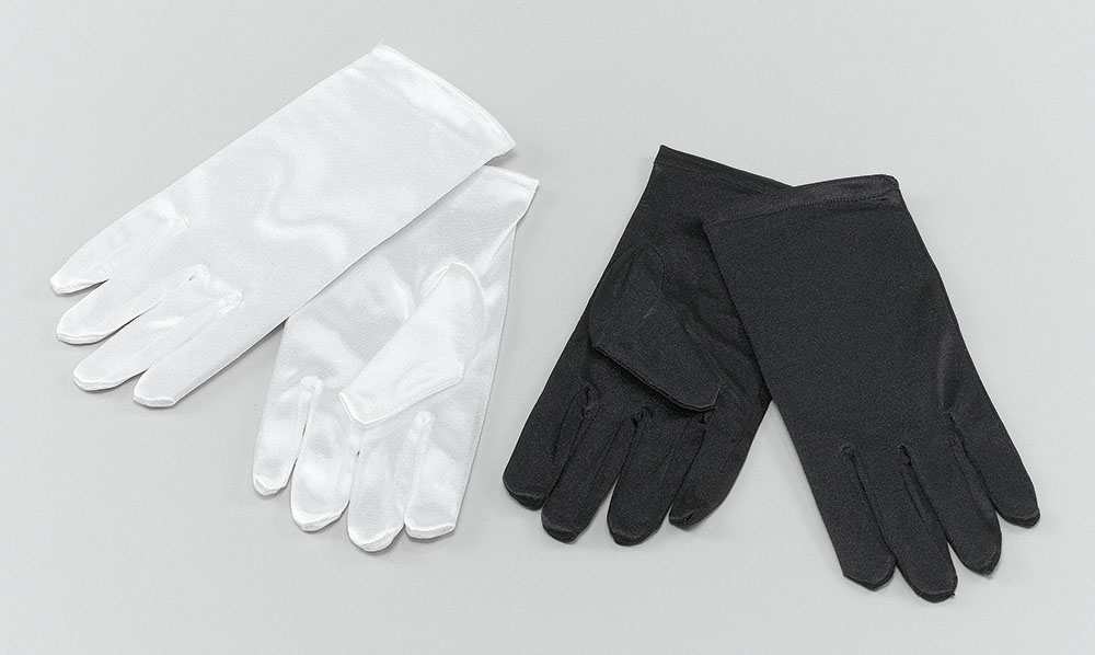 Childs Gloves. White