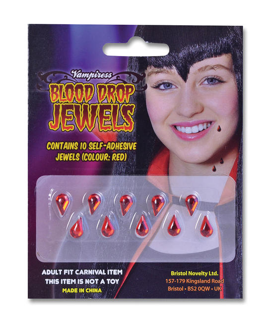 Vampiress Blood Drop Jewels Thumbnail 1