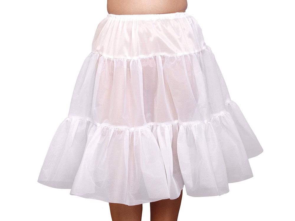 Petticoat. White