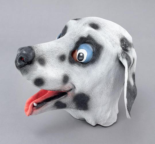 Dalmatian Rubber Overhead Mask Thumbnail 1