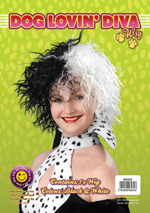 Dog Lovin Diva Wig. Budget Thumbnail 2