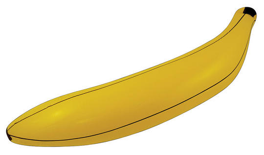 "Inflatable Banana 28"" Thumbnail 1"