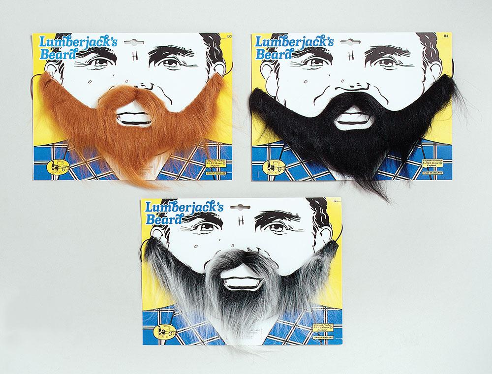 Lumberjack Beard. Grey