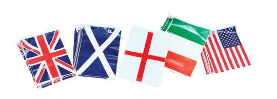 Bunting. Scotland 7m, 25 Flags Thumbnail 1
