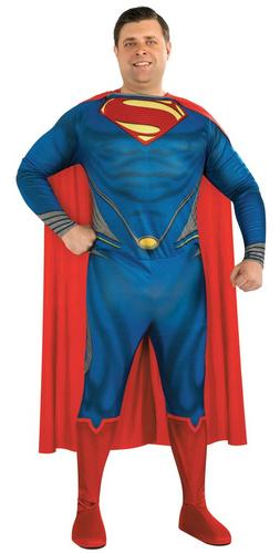 Man of Steel Plus  size Superman Thumbnail 1