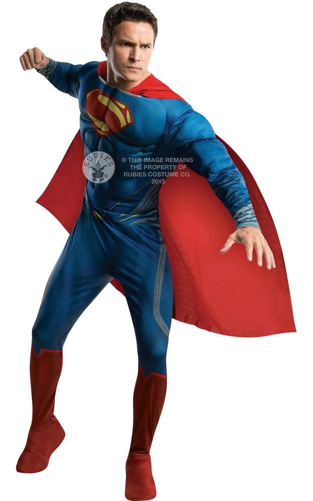 Deluxe Man of Steel Superman Plus size