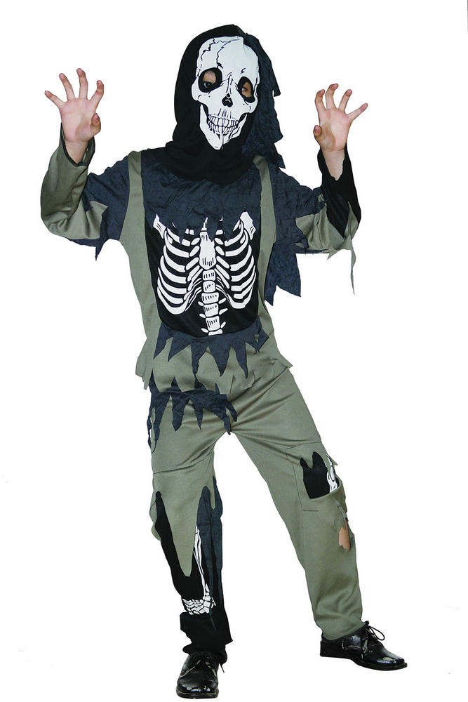 Childs Skeleton Zombie costume