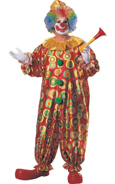 Jolly Jack Clown Fancy Dress Costume