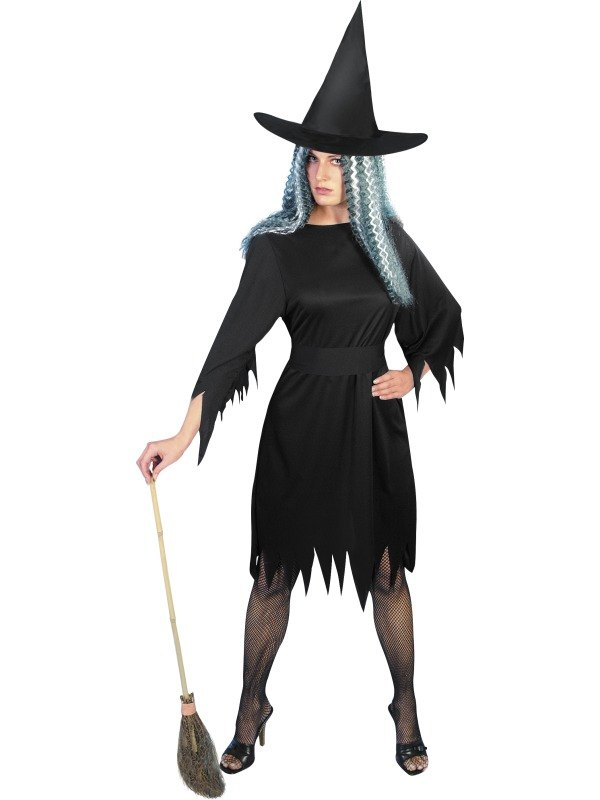 SALE-Adult-Sexy-Spooky-Witch-Ladies-Halloween-Party-Fancy-Dress-Costume-Outfit