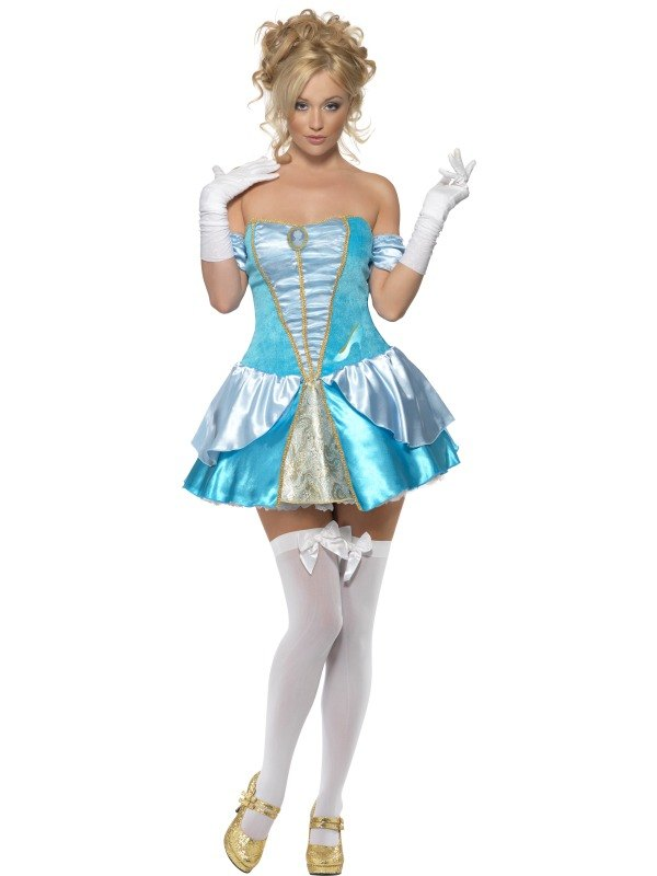 Adult Fever Fairytale Princess Cinderella (Cinders) Ladies ...