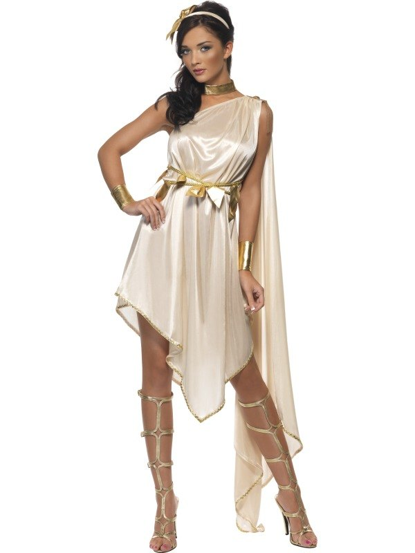 Adult-Sexy-Roman-Toga-Greek-Athena-Goddess-Ladies-Fancy-Dress-Costume-Outfit