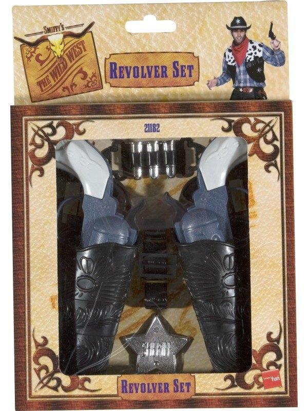 SALE! Kids Wild West Cowboy Toy Gun Set Fancy Dress Costume Party Accessory